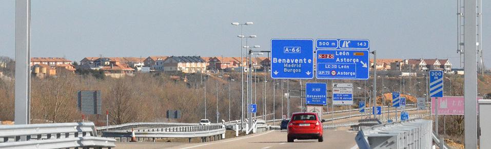 La autopista en cifras