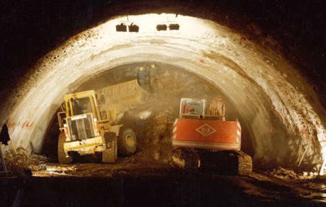 Historia túneles